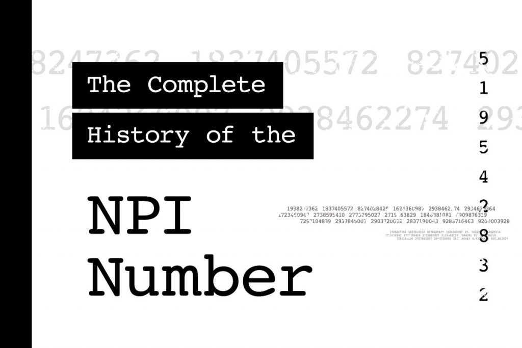 How do I find my NPI number